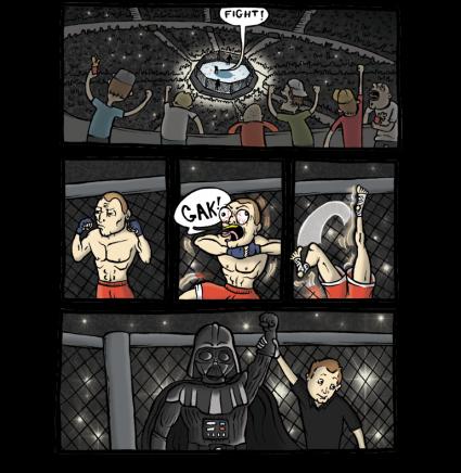 Lucha definitiva al estilo del imperio